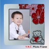silver home decorative ,3''*4''kid photo frame