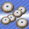 sintered bronze bond diamond grinding wheel for glass shape edging machine