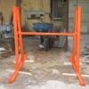 slab steel A-Frame