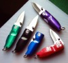 stainless steel mini pocket knife with alloy handle