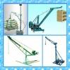 steel rope mini electric crane