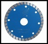 turbo saw blade with flange segment sintered