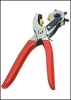 two-using plastic stained punch pliers