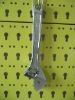type A chrome plated adjustable wrench