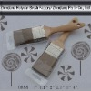 wood painting brush no.0888