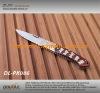 wooden handle pocket folding knife