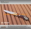wooden handle pocket folding knife