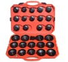 30pcs cap type oil filter tool